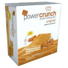 Barra de Proteina Power Crunch - 12 Unidades Caramelo Salgado - BNRG