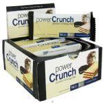 Barra de Proteina Power Crunch - Cookies e Creme Caixa com 12 - BNRG