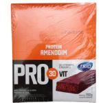 Barra de Proteína Trio Pro 30Vit - Sabor Amendoim c/ 24 barras de 33g - Trio Alimentos