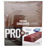 Barra de Proteína Trio Pro 30Vit - Sabor Chocolate c/ 24 barras de 33g - Trio Alimentos