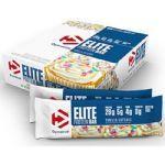 Barra Elite Protein Bar - Vanilla Cupcake 12 Unidades 840g - Dymatize*** Data Venc. 17/10/2017