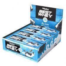 Barra Proteica Best Whey - 12 Barras 32g Cookies & Cream - Atlhetica Nutrition