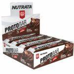 Barra Proto Bar - 8 Unidades de 70g Chocolate Meio Amargo com Nibs de Cacau - Nutrata no Atacado