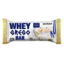 Barra Whey Grego Bar - 1 Unidade de 40g Beijinho - Nutrata