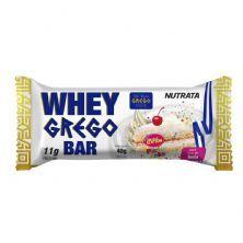 Barra Whey Grego Bar - 1 Unidade de 40g Bolo de Festa - Nutrata