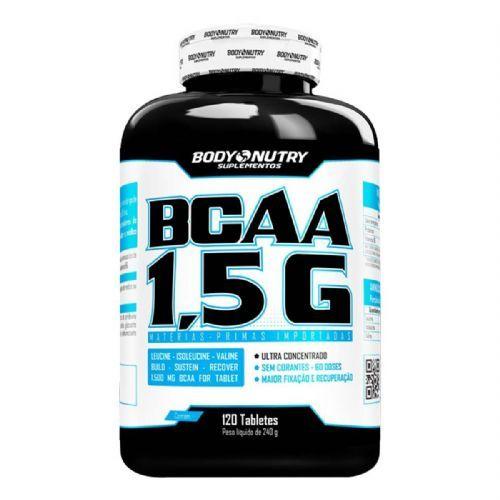 Bcaa 1,5g - 120 Tabletes - Body Nutry no Atacado