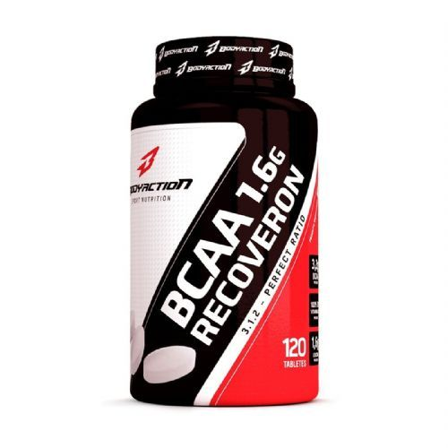 BCAA 1.6G Recoveron - 120 Tabletes - BodyAction no Atacado