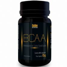 BCAA - 100 Cápsulas - Golden Nutrition*** Data Venc. 30/12/2019