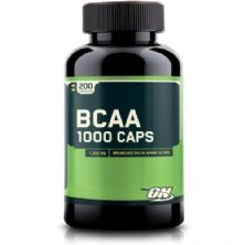 BCAA 1000 - 200 Cápsulas - Optimum Nutrition*** Data Venc. 30/08/2018