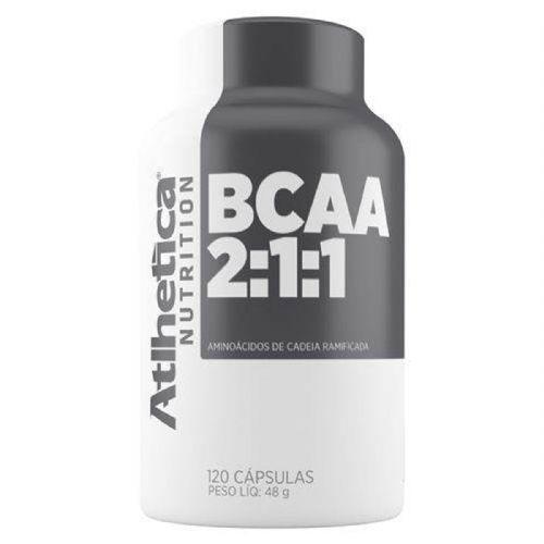 Bcaa 2:1:1 - 120 Cápsulas - Atlhetica Nutrition no Atacado