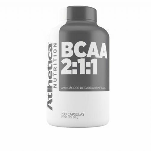 Bcaa 2:1:1 - 200 Cápsulas - Atlhetica Nutrition no Atacado