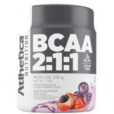 BCAA 2:1:1 - 210g Guarana c/ Açai - Atlhetica Nutrition