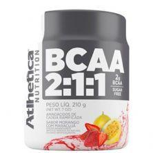 BCAA 2:1:1 - 210g Morango c/ Maracujá- Atlhetica Nutrition