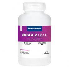 BCAA 2:1:1 2400mg - 120 Cápsulas - NewNutrition