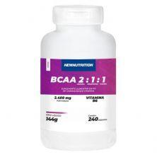 BCAA 2:1:1 2400mg - 240 Cápsulas - NewNutrition