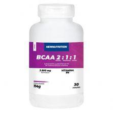 BCAA 2:1:1 3800mg - 120 Cápsulas - NewNutrition
