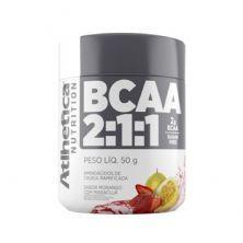 BCAA 2:1:1 - 50g Morango c/ Maracujá- Atlhetica Nutrition