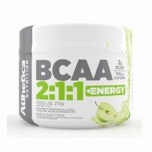Bcaa 2:1:1 + Energy - 210g Maça Verde - Atlhetica