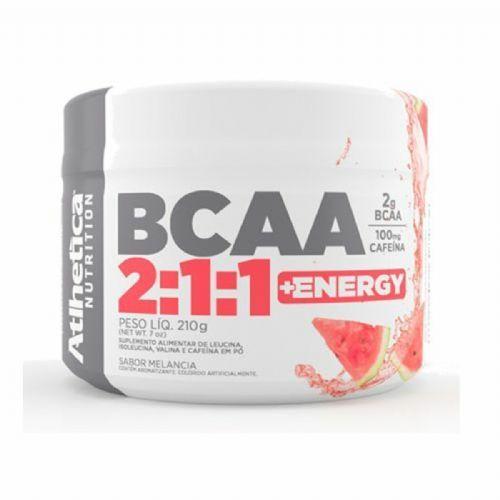 Bcaa 2:1:1 + Energy - 210g Melancia - Atlhetica no Atacado