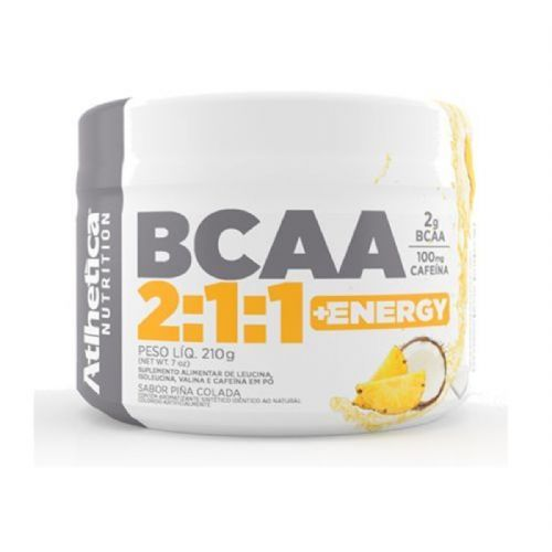 Bcaa 2:1:1 + Energy - 210g Piña Colada - Atlhetica no Atacado