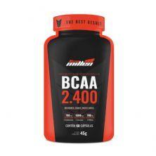 BCAA 2400 -  60 Cápsulas - New Millen