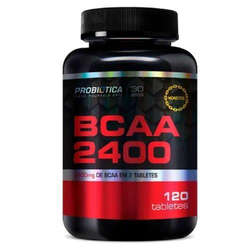 BCAA 2400 - 120 Tabletes - Probiótica no Atacado