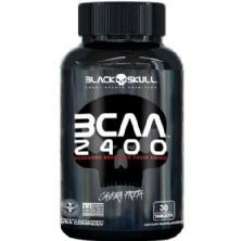 Bcaa 2400 - 30 Tablets - Black Skull