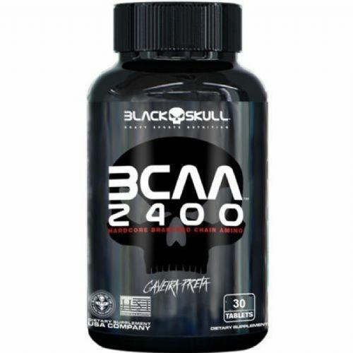 Bcaa 2400 - 30 Tablets - Black Skull no Atacado