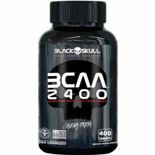 BCAA 2400 - 400 Tabletes - Black Skulll no Atacado