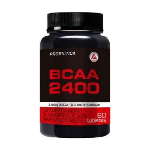 BCAA 2400 - 60 Tabletes - Probiótica no Atacado