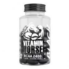 Bcaa 2400 Amino Black - 120 Tabletes - Vitamin Horse