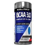 BCAA 3.0 12:1:1 - 120 Tabletes - Cell Force
