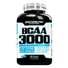 BCAA 3000 - 100 Cápsulas - Body Nutry