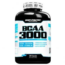 BCAA 3000 - 200 Cápsulas - Body Nutry