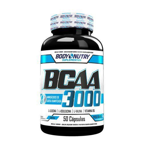 BCAA 3000 - 50 Cápsulas - Body Nutry*** Data Venc. 13/06/2019
