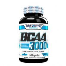 BCAA 3000 - 50 Cápsulas - Body Nutry