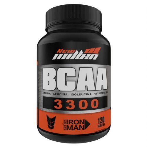 Bcaa 3300mg - 120 Tabletes - New Millen no Atacado