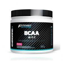 Bcaa 4:1:1 - 200g Morango Silvestre - Fitfast Nutrition