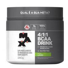 BCAA 4:1:1 - 280g Drink Limão - Max Titanium