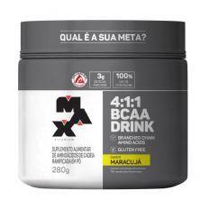 BCAA 4:1:1 - 280g Drink Maracujá - Max Titanium