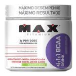 BCAA 4:1:1 Drink Limão - 280g - Max Titanium