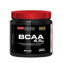 BCAA 4.5 Powder - 250g Morango - BodyBuilders