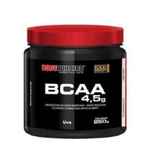 BCAA 4.5 Powder - 250g Uva - BodyBuilders