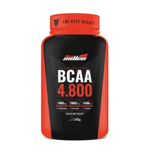 Bcaa 4800mg com Ribose - 120 Tabletes - New Millen no Atacado
