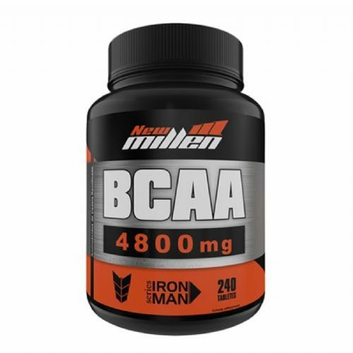Bcaa 4800mg com Ribose - 240 Tabletes  - New Millen no Atacado