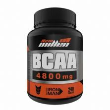Bcaa 4800mg com Ribose - 240 Tabletes  - New Millen