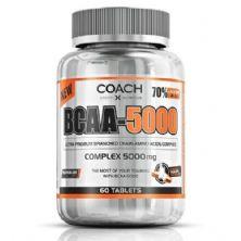 BCAA  5000 -Limão - 60 tabletes - Coach