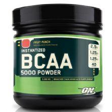 BCAA 5000 Powder - Fruit Punch 380g - Optimum Nutrition
