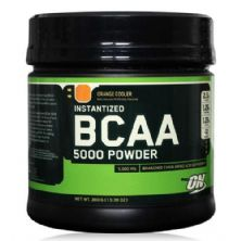 BCAA 5000 Powder - Laranja 380g - Optimum Nutrition