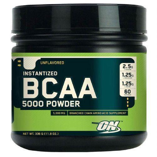 BCAA 5000 Powder - Sem Sabor 345g - Optimum Nutrition no Atacado